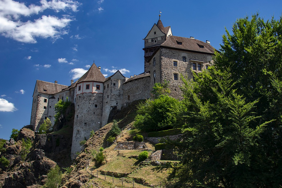 hrad Loket nad Ohří