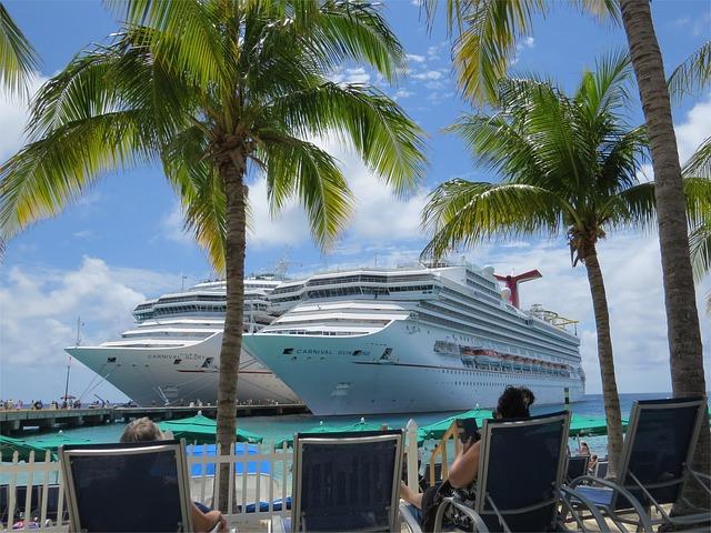 lodě na Bahamách