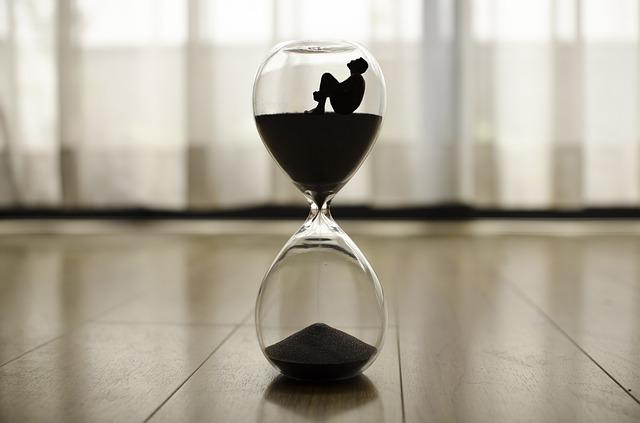 přesýpací hodiny, sileuta