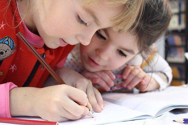 učící se děti